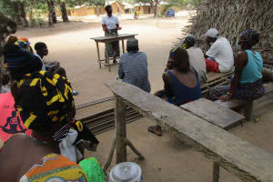 The Water Project: Lokomasama, Kalangba Junction, Next to Alimamy Musa Kamara's House -  Learning About Balanced Diets