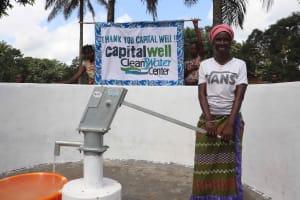 The Water Project: Lokomasama, Kalangba Junction, Next to Alimamy Musa Kamara's House -  Joyful For Water