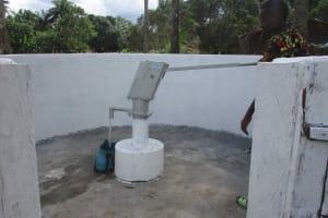 The Water Project: Lokomasama, Kalangba Junction, Next to Alimamy Musa Kamara's House -  Collecting Water