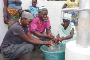 The Water Project: Kamasondo, Robay Village, Next to Mosque -  Community Women And Headman