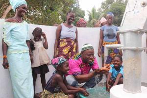 The Water Project: Kamasondo, Robay Village, Next to Mosque -  Community Headman