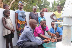 The Water Project: Kamasondo, Robay Village, Next to Mosque -  Community Youths And Headman
