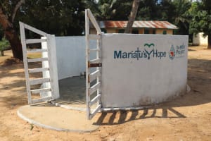 The Water Project: Kamasondo, Robay Village, Next to Mosque -  Finished Water Point