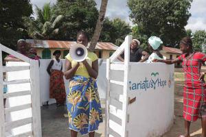 The Water Project: Kamasondo, Robay Village, Next to Mosque -  Mariatu K
