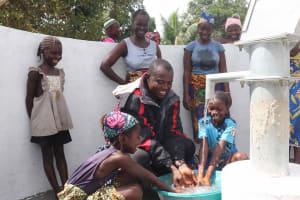 The Water Project: Kamasondo, Robay Village, Next to Mosque -  Mr Bangura And Kids