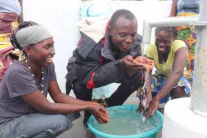 The Water Project: Kamasondo, Robay Village, Next to Mosque -  Mr Bangura