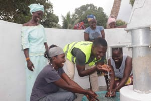 The Water Project: Kamasondo, Robay Village, Next to Mosque -  Mr Fofanah