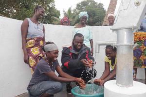 The Water Project: Kamasondo, Robay Village, Next to Mosque -  Women And Mr Bangura Port Loko District