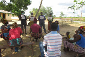 The Water Project: Kamasondo, Robay Village, Next to Mosque -  Disease Transmission Posters