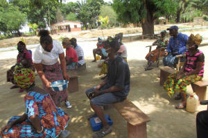 The Water Project: Kamasondo, Robay Village, Next to Mosque -  Hand Washing Method