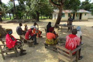 The Water Project: Kamasondo, Robay Village, Next to Mosque -  Teaching About Diarrhea