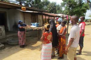 The Water Project: Kamasondo, Robay Village, Next to Mosque -  Teaching Importance Of Dishracks