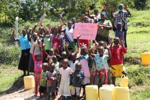 The Water Project: Shamoni Community, Shiundu Spring -  Thank You