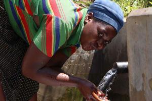 The Water Project: Shamoni Community, Shiundu Spring -  Water