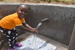 The Water Project: Mukangu Community, Mukasia Spring -  Big Smile