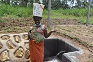 The Water Project: Mukangu Community, Mukasia Spring -  Clean Water Brings Balance