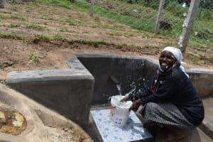 The Water Project: Mukangu Community, Mukasia Spring -  Making A Splash