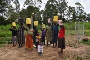 The Water Project: Mukangu Community, Mukasia Spring -  Thankful Community