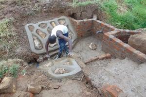 The Water Project: Mukangu Community, Mukasia Spring -  Rubwalls