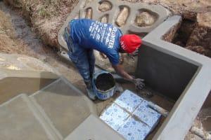 The Water Project: Mukangu Community, Mukasia Spring -  Tiles