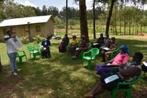 The Water Project: Mukangu Community, Mukasia Spring -  Dental Hygiene