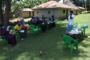 The Water Project: Mukangu Community, Mukasia Spring -  Taking Notes
