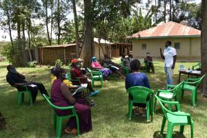 The Water Project: Mukangu Community, Mukasia Spring -  Toothbrush Training