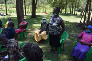 The Water Project: Mukangu Community, Mukasia Spring -  Training Discussion