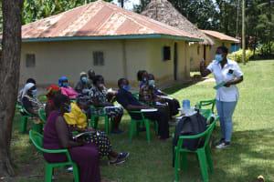 The Water Project: Mukangu Community, Mukasia Spring -  Training