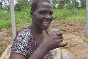 The Water Project: Mukangu Community, Mukasia Spring -  Clean Water