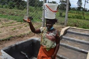 The Water Project: Mukangu Community, Mukasia Spring -  Plenty Of Water