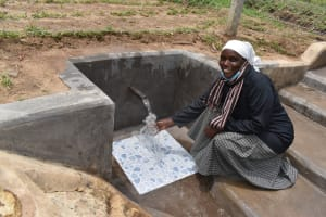 The Water Project: Mukangu Community, Mukasia Spring -  Relieved