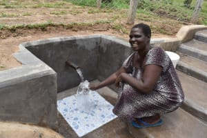 The Water Project: Mukangu Community, Mukasia Spring -  Smiling