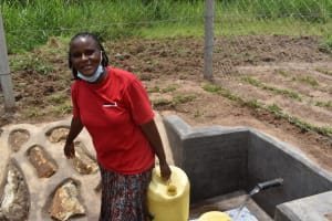 The Water Project: Mukangu Community, Mukasia Spring -  So Much Easier