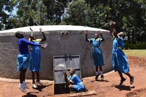 The Water Project: Gimomoi Primary School -  Celebrating