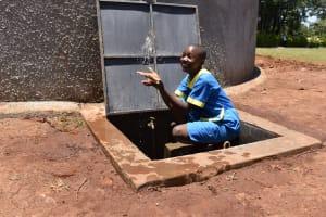 The Water Project: Gimomoi Primary School -  Splashing