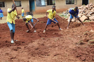 The Water Project: Gimomoi Primary School -  Excavation