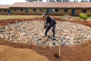 The Water Project: Gimomoi Primary School -  Foundation