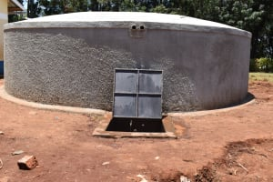 The Water Project: Gimomoi Primary School -  A Beautiful Tank