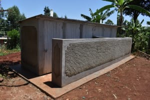 The Water Project: Gimomoi Primary School -  Finished Latrines
