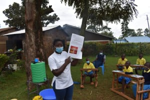 The Water Project: Gimomoi Primary School -  Dental Hygiene