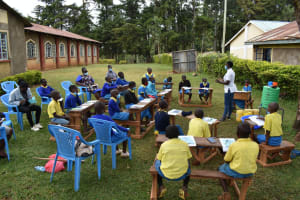 The Water Project: Gimomoi Primary School -  Listening