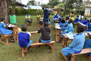 The Water Project: Gimomoi Primary School -  Solar Water Treatment