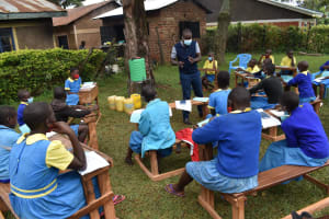 The Water Project: Gimomoi Primary School -  Taking Notes