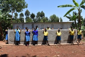 The Water Project: Gimomoi Primary School -  At Their Latrines