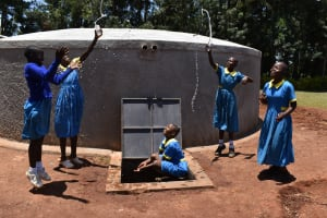 The Water Project: Gimomoi Primary School -  Jumping For Joy