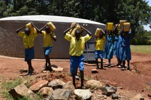 The Water Project: Gimomoi Primary School -  So Much Easier