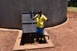 The Water Project: Gimomoi Primary School -  Thumbs Up