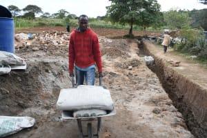 The Water Project: Kyamwalye Community -  Ferrying Supplies