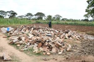 The Water Project: Kyamwalye Community -  Gathered Stone